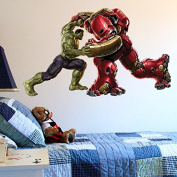 MARVEL AVENGERS ASSEMBLE HULKBUSTER Wall Sticker Children Nursery Wall sticker