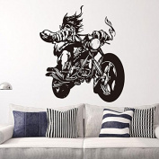 Motorcycle Motorbike Art Vinyl Wall Sticker Living Room Decal Decor Sports