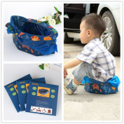 Union Tesco Disposable Foldable Travel Potty For Camping Car Travel