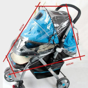 CHIC-CHIC Universal Pushchair Baby Stroller Buggy Rain Cover Wind Shield Travel
