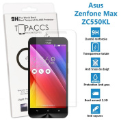 Asus Zenfone zc550kl Max - Real Glass Screen Protector Tempered Glass Ultra Durable Screen Protector