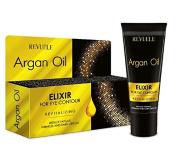 Revuele Argan Oil Eye Elixir Cream Eye Contour. Reduces Fatigue, Wrinkles and Dark Circles.