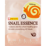 SHILLS DR Snail Essence Sheet Mask 100% Genuine / Authentic - Delays Signs of Ageing, Visibly Reduces Wrinkles and Fine Lines. Boosts Moisture and Softens Skin. LATEST Innovation, Potent Skin-Boosting Snail Secretion Filtrate
