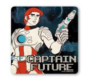 Science Fiction - Captain Future Coaster - Drink Mat - coloured - original licenced product - LOGOSHIRT