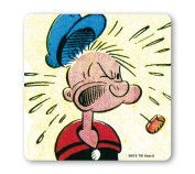 Popeye the Sailorman - What The Hell Coaster - Drink Mat - coloured - original licenced product - LOGOSHIRT
