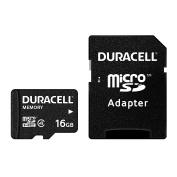 Duracell dursd16gbc4 Card 16GB Class 4 Micro SD/SDHC Memory Card