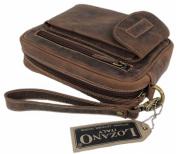 Lozano Men's Organiser Clutch brown brown 14x21x6