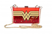 DC Comics Wonder Woman Wonderlust Glitter Perspex Cross Body Bag