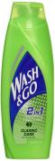 6 x Wash & Go Universal 2in1 Shampoo & Conditioner 200ml