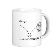 Gifts for Men Motivational Coffee Mugs Funny Unique Drop and Give Me 20 Ceramic Mug Cup 330ml Both Sides