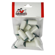 Set of 14 Slip-On Tips for Pool Cues - 7 Sizes