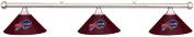 NFL Buffalo Bills Burgundy Metal Shade & Chrome Bar Billiard Pool Table Light