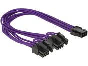 DeLOCK PCI Express 6 pin - 2 x 8 pin - power cables (Male/Female, PCI-E (6-pin), 2 x PCI-E