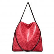 Artone Women's PU Casual Chain Tote Shoulder Bag