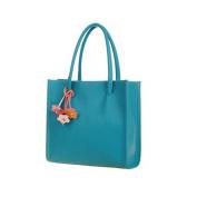 Bescita girls handbags leather shoulder bag candy colour flowers