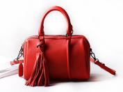CHAOYANG-Leather handbags shoulder bag diagonal shoulder bag fringed leather bag