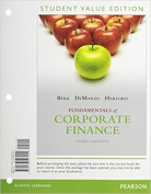 Fundamentals of Corporate Finance, Student Value Edition