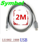 USB to RJ45 male Cable For symbol LS1902T LS1902 LS1908 Barcode Scanner ...