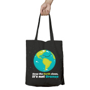 I Love Science Keep the Earth Clean It's Not Uranus Official Tote Bag