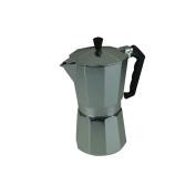 Apollo Continental Espresso Coffee Maker Machine Aluminium Stove Top 6 Cup New
