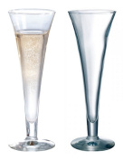 Durobor Set of 2, Royal Trumpet Champagne Glass, 160ml - G1915/16