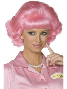 Uwant Fashion Frenchy Pink Wig Grease 50S Ladies Womens Fancy Dress Costume 1950S Wigs