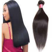 Nadula Brazilian 1 bundle 6A Straight Remy Virgin Human Hair Unprocessed Hair Extension Natural Colour