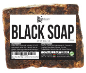 Raw Apothecary - Raw African Black Soap, 100% All Natural, Fair Trade Certified, Cruelty Free, Organic and Unrefined