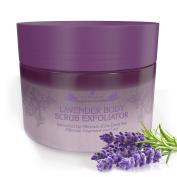 Organic Body Scrub Exfoliator Lavender