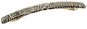France Luxe Kona Long and Skinny Barrette - Opera Silver
