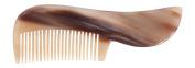 Bürstenhaus Redecker Cattle Horn Beard Comb, 8.6cm