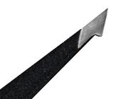 OceanPure Stainless Steel Textured Dual Tip Tweezer, Black