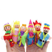 Livoty 6PCS Finger Toys Hand Puppets