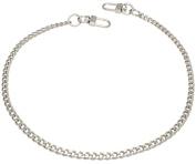 k-craft BS01 125cm Purse Metal Chain Strap Replacement Silver Crossbody Shoulder Strap Handbag