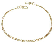 k-craft BG01 135cm Purse Metal Chain Strap Replacement Gold Crossbody Shoulder Strap Handbag