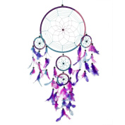 Vovotrade Dream Catcher Circular Feathers Wall Hanging Decoration Decor Craft