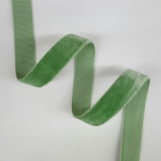 1.6cm Velvet Ribbon Selling Per 5 Yards in Sage Green