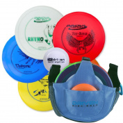 Driven Disc Golf Set - Perfect Bundle for Beginners - FREE Mini Disc + Innova Drivers, Midrange, and Putter - This Starter Set is a Fun Outdoor Game for Kids and Adults - 100% Satisfaction Guarantee