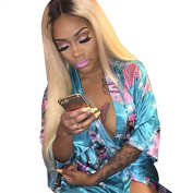 Ten Chopstics Ombre Blonde Unprocessed Human Hair Brazilian Lace Front Wigs Front Lace Wig Bleached Knots 100 Virgin Hair for Black Women Natural Baby Hair in Stock