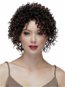 Finders 25cm Short Curly Wigs Afro Kinky Curly Wig Heat Resistant Synthetic Wigs For Women