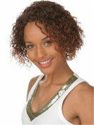 Finders 36cm Short Curly Wigs Ombre Brown Auburn Afro Kinky curly Wig Heat Resistant Synthetic Wigs For Women