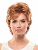 Finders 25cm Short Curly Wigs Graceful Blonde Heat Resistant Synthetic Wigs For Women