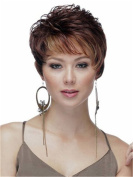 Finders 20cm Short Curly Wigs Sexy Blonde Auburn Two Tone Heat Resistant Synthetic Wigs For Women