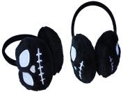 Nightmare Before Christmas Jack Black Fur Warm Gothic Ear Muffs Head Band
