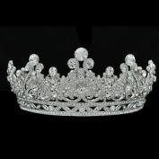 Austrian Crystal Rhinestone Bridal Wedding Tiara Crown Hair Jewellery Accessories SHA8745