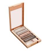 5 Colours Glitter Eyeshadow Palette Makeup Natural Shimmer Warm Eyeshadow Set