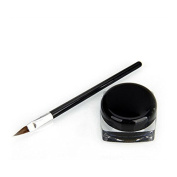 Cosmetic Tool Waterproof Eyeliner Makeup Beauty Black Gel Eyeliner with Brush