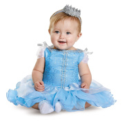 Disguise Baby Girls' Cinderella Prestige Infant Costume