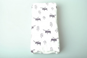 Muslin Swaddle Blankets(one pack)- Bamboo & cotton -Softest Muslin Receiving Blankets - Unisex (Tent design)