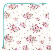 100% Organic Muslin Everything Blanket by ADDISON BELLE - Oversized 120cm x 120cm - Best Baby/Toddler Gift - Premium 4 Layer Muslin Blanket/Dream Blanket